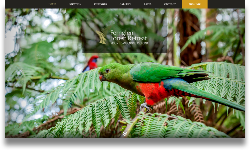 B&B Website Design (Online Tourism)
