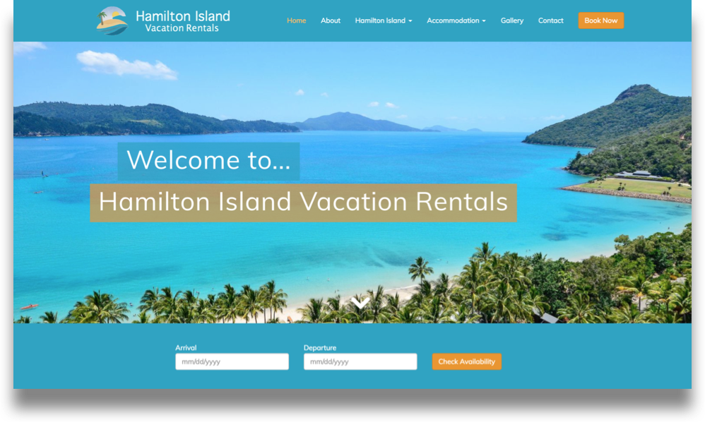 Resort Web Design (Online Tourism)