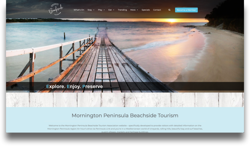 Destination Website Design (Online Tourism)